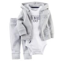 Pantaloni nou-născut 6 9 12 18 luni Cardigan Set Pat Boy Outfit Haine